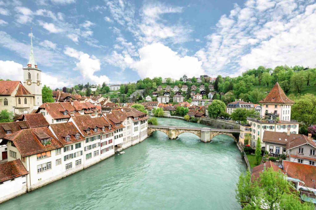 Blick über die Stadt Bern