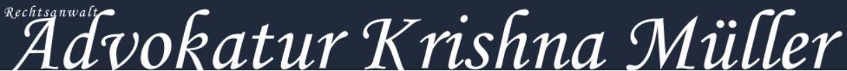 Logo Advokatur Krishna Müller