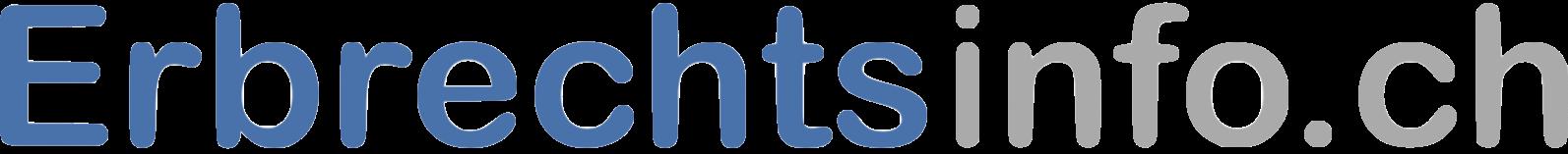 Erbrechtsinfo.ch Logo Neu