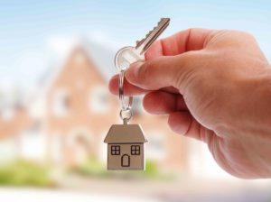Haus Schlüsselanhänger